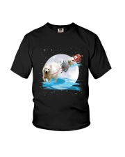 GAEA - Japanese Spitz Santa - 1111 - 05 Youth T-Shirt thumbnail