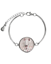 Bull Terrier Awesome 2104 Metallic Circle Bracelet thumbnail