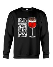 German Shepher Wine 2505 Crewneck Sweatshirt thumbnail