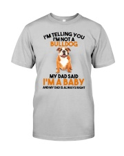 Bulldog Baby 2905 Classic T-Shirt front