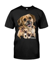 Puggle Awesome Classic T-Shirt front