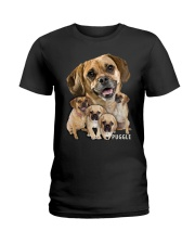 Puggle Awesome Ladies T-Shirt tile