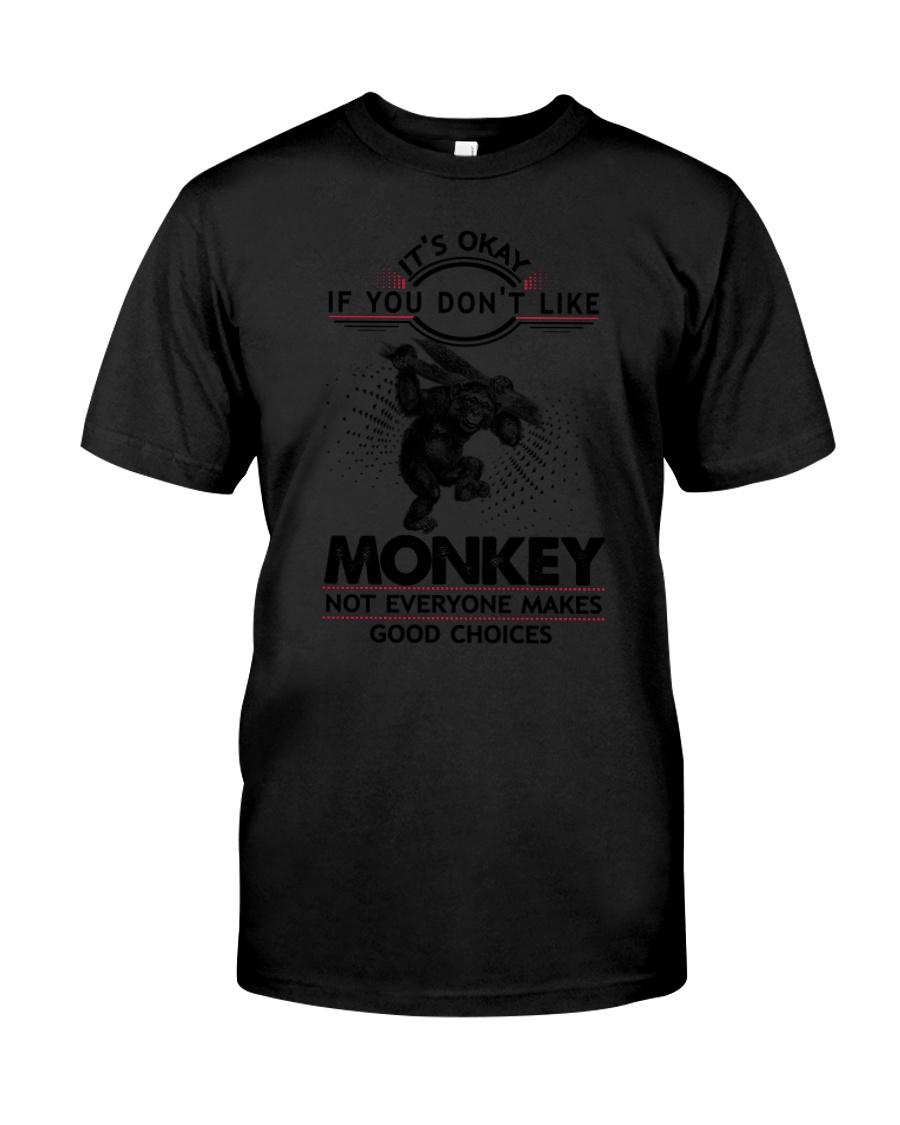 Monkey Good Choices 2504 Classic T-Shirt