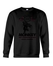 Monkey Good Choices 2504 Crewneck Sweatshirt thumbnail