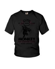 Monkey Good Choices 2504 Youth T-Shirt thumbnail