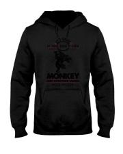 Monkey Good Choices 2504 Hooded Sweatshirt thumbnail