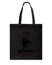 Monkey Good Choices 2504 Tote Bag thumbnail
