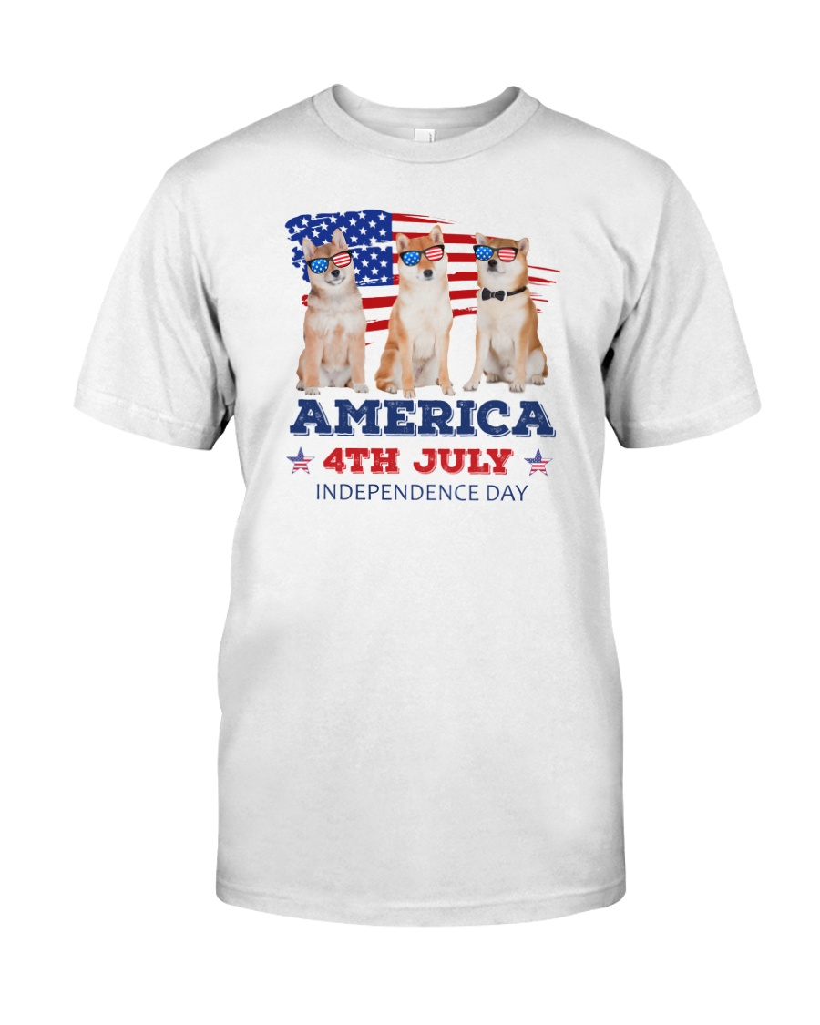 Shiba Inu 4th7 0706 Classic T-Shirt