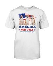 Shiba Inu 4th7 0706 Classic T-Shirt front