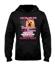 ZEUS - Yorkshire Terrier  Baby - 1111 - 99 Hooded Sweatshirt thumbnail