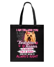 ZEUS - Yorkshire Terrier  Baby - 1111 - 99 Tote Bag thumbnail