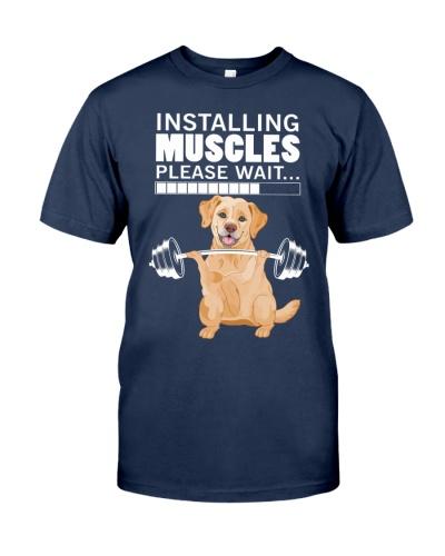 Golden Retriever Muscles
