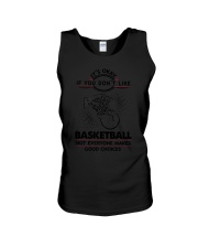 Basketball Good Choices 2504 Unisex Tank thumbnail