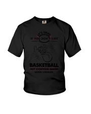 Basketball Good Choices 2504 Youth T-Shirt thumbnail