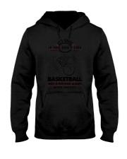 Basketball Good Choices 2504 Hooded Sweatshirt thumbnail