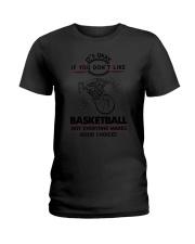 Basketball Good Choices 2504 Ladies T-Shirt thumbnail