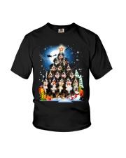 GAEA -Bernese Mountain Dog Pine - 1310 - 28 Youth T-Shirt thumbnail