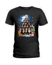 GAEA -Bernese Mountain Dog Pine - 1310 - 28 Ladies T-Shirt thumbnail