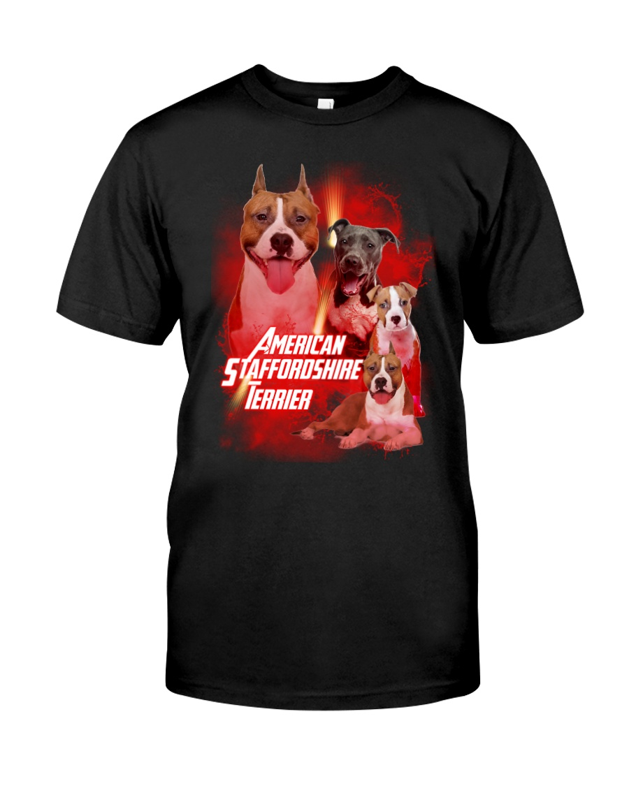 GAEA - American Staffordshire Terrier Great 1004  Classic T-Shirt