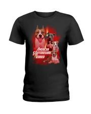 GAEA - American Staffordshire Terrier Great 1004  Ladies T-Shirt thumbnail