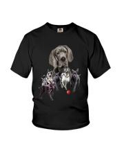 GAEA - Great Dane Running 1403 Youth T-Shirt thumbnail