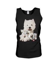GAEA - West Highland White Terrier Running 1603 Unisex Tank thumbnail