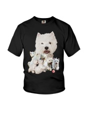 GAEA - West Highland White Terrier Running 1603 Youth T-Shirt thumbnail