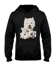 GAEA - West Highland White Terrier Running 1603 Hooded Sweatshirt thumbnail