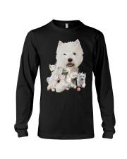 GAEA - West Highland White Terrier Running 1603 Long Sleeve Tee thumbnail