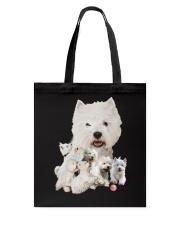 GAEA - West Highland White Terrier Running 1603 Tote Bag thumbnail