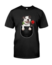 GAEA - American Pit Bull Terrier Rose 0404 Classic T-Shirt front
