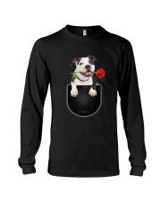 GAEA - American Pit Bull Terrier Rose 0404 Long Sleeve Tee thumbnail