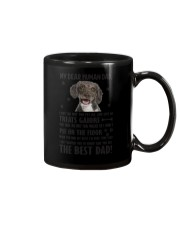 Spanish Water Dog Human Dad 0406 Mug tile