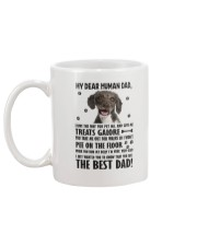 Spanish Water Dog Human Dad 0406 Mug back