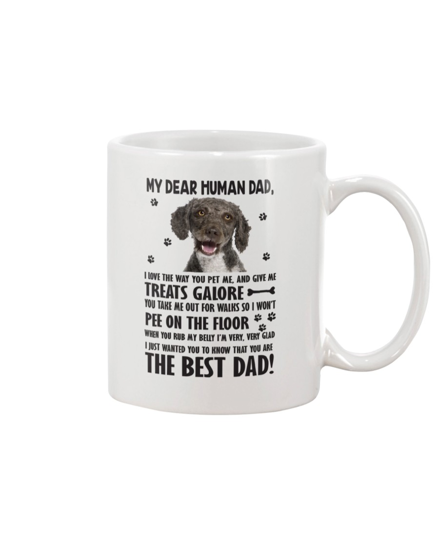 Spanish Water Dog Human Dad 0406 Mug
