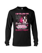 Boston Terrier Baby  Long Sleeve Tee thumbnail