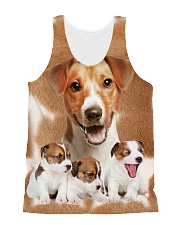 Jack Russell Terrier Awesome 2104 All-over Unisex Tank front