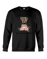 Yorkshire Terrier  Love Woman 2104 Crewneck Sweatshirt thumbnail