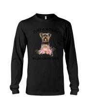Yorkshire Terrier  Love Woman 2104 Long Sleeve Tee thumbnail