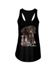 German Shorthaired Pointer Awesome Ladies Flowy Tank thumbnail