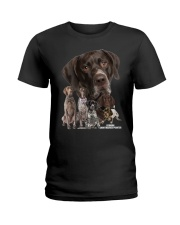 German Shorthaired Pointer Awesome Ladies T-Shirt thumbnail