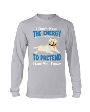 Golden Retriever Energy Long Sleeve Tee thumbnail