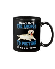 Golden Retriever Energy Mug tile