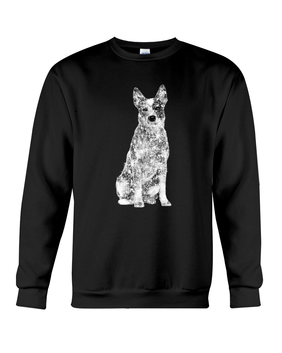 Australian Cattle Dog Bling - 1203 Crewneck Sweatshirt