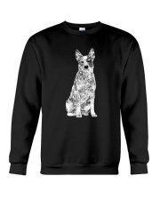 Australian Cattle Dog Bling - 1203 Crewneck Sweatshirt front