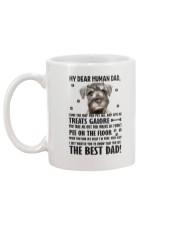Bloodhound Human Dad 0206 Mug back