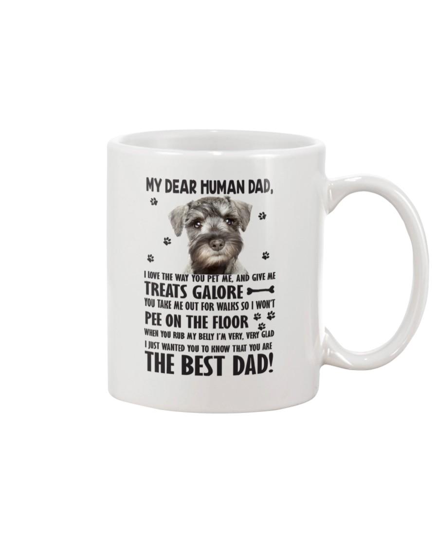 Bloodhound Human Dad 0206 Mug