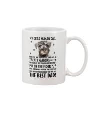 Bloodhound Human Dad 0206 Mug front