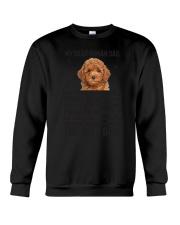 Poodle Dear Human Dad 0106 Crewneck Sweatshirt thumbnail