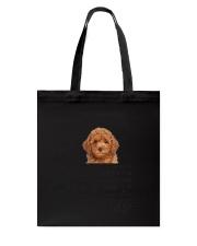 Poodle Dear Human Dad 0106 Tote Bag thumbnail